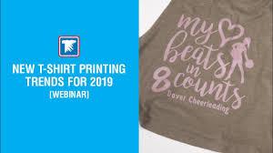 <b>New T</b>-<b>Shirt Printing</b> Trends for <b>2019</b> - YouTube