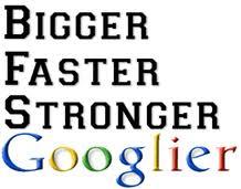 Bigger Faster Stronger Googlier Adam J Hamilton J D