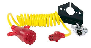 hopkins nite glow tow bar extension cord review video etrailer com hopkins nite glow tow bar extension cord w socket coiled 7