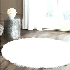 white faux fur rug white faux sheepskin rug round real white faux sheepskin rug fur blanket