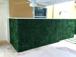 fake faux grass decor decorative plants wall to enlarge