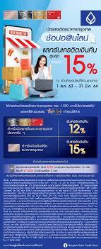 Bank Promotion - Bangkok Bank Credit Card Promotion