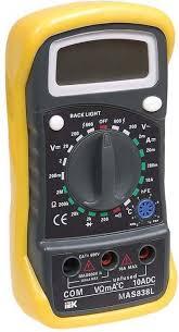 <b>Мультиметр цифровой IEK Master</b> MAS838L