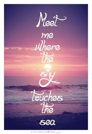 Ocean Quote Picture Quotes You Know Where I Am And This Will