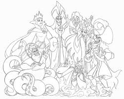 Small Picture Disney Villains Coloring Pages GetColoringPagescom