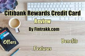 citibank rewards credit card offers