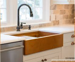 undermount farmhouse sink. Legacy Copper Farmhouse Sink To Undermount
