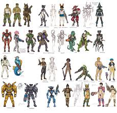 Design Sheet Art Awesome Character Design Sheet Character Design Android