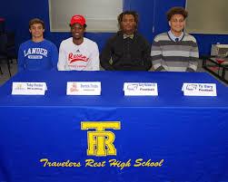Seniors Derrick Fields, Toby Foster, Ty... - Travelers Rest High School |  Facebook