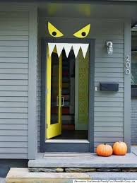 Lets see those frighteningly fabulous Halloween Door Decorating Ideas