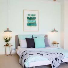green bedroom furniture. Example Of A Transitional Carpeted Bedroom Design In Gold Coast - Tweed  With Green Walls Furniture