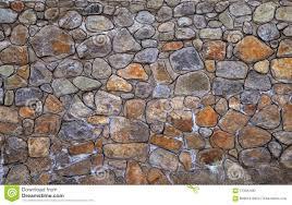 Stone Brick Background Rubble Masonry Wall Stone Wall Made