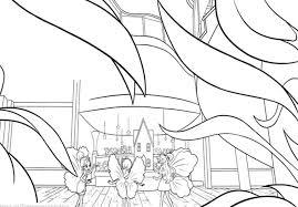 Thumbelina Coloring Page#299642