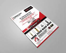Kg Design Services Car Service Flyer Design By Tbhs Co Graphics By Myg