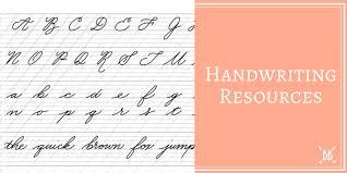 Handwriting Resources | Boho Berry : Boho Berry
