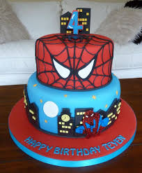 Spiderman Idea Cake Emilias Cakes Artisan Cakes In Coventry