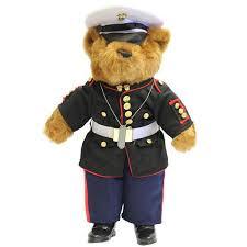 Usmc Dress Blues Size Chart Marine Corps Enlisted Dress Blue Uniform Plush Bear 21