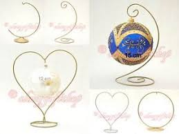 Bauble Display Stand EASTER EGG holder CHRISTMAS BAUBLE METAL STAND BAUBLES HANGER 9
