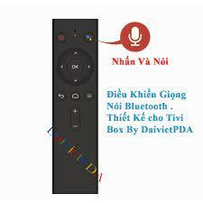Remote Bluetooth giọng nói cho Android Box ATV Thiết kế By DaivietPDA
