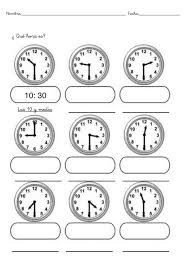9 best matemáticas images on Pinterest | The hours, Pre-school and ...