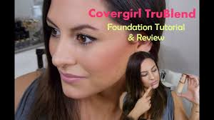 cover trublend foundation tutorial review