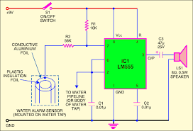water alarm Alarm Wiring Diagram For A Homemade Burglar Alarm Wiring Diagram