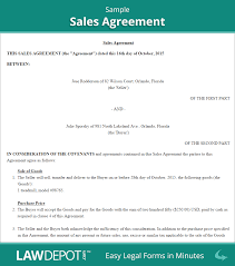 sales contracts sample sales agreement form free sales contract us lawdepot
