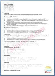 Contoh Resume Civil Engineering Cv Civil Civil Engineer In