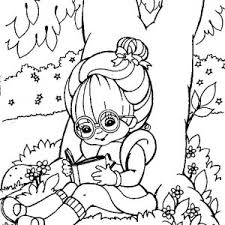 Small Picture Rainbow Brite Make a Knit for Twink Coloring Page Color Luna