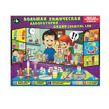 <b>Набор для</b> исследований <b>Toys Lab</b> Большая химическая ...