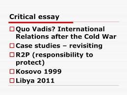 essay writing tips for writing essays pol no simple answers  critical essay  quo vadis