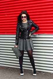 i m wearing jacket aliexpress sweater h m similar here skirt zara shoes zara handbag forever21 earrings ring hagar satat