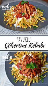 Tavuklu Çökertme Kebabı (Lokum Gibi) Tarifi nasıl yapılır? 17.611 kişinin  defterindeki bu tarifin resimli anlatımı ve dene…   Yemek tarifleri, Yemek,  Yemek planlama