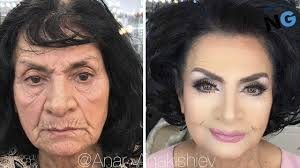 makeup artist makes women as old as 80 look decades younger and the result is hard to believe