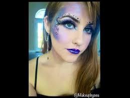 purple fairy makeup tutorial clip