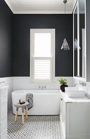 white tile bathroom floor. Gorgeous Black And White Tile Bathroom Floor Patterned Tiles On The Is A Great Addition To
