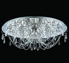 large crystal flush mount ceiling light facebook share