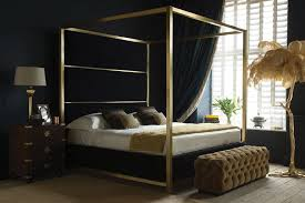 modern 4 poster bed. Plain Modern Hoxton Four Poster Bed With Modern 4
