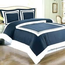 black and white comforter set with trim navy bedding elegant bedroom design sets blue co