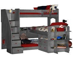 Kids Bedroom Furniture Bunk Beds Trifecta Loft Bunk Bed Bedroom Furniture Beds Berg Furniture