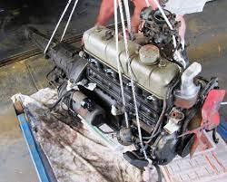 Merrick's RT40 Toyota Corona Rebuild: Engine out
