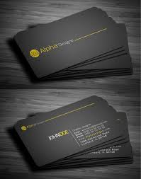 Modern Business Cards Design 25 Fresh Examples Design Graphic