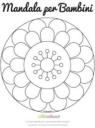 Mandala Per Bambini Da Colorare E Stampare Fredrotgans