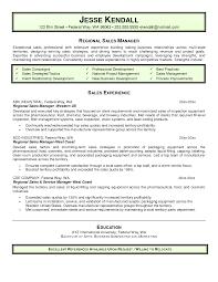 it manager sample resume  seangarrette co   regional sales manager resume objective