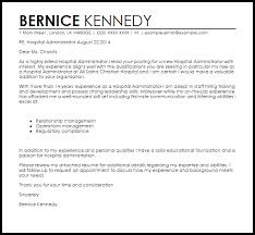 Cover Letter For Hospital Resume And Cover Letter Resume And