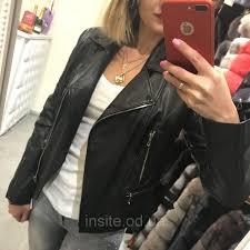 the leather biker jacket shortened leather 019dl