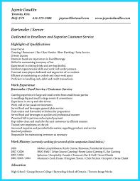 sample bartender resume cv template for bar work seraffino com