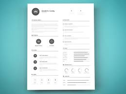 Free Resume Templates And Printing Delectable Print Ready Resume Template Graphberry