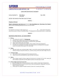 landscape maintenance proposal template maintenance contract agreement landscapes landscape maintenance