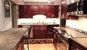 kitchen backsplash cherry cabinets. Interesting Cabinets Cherry Cabinets Kitchen Glaze Backsplash  White Counter For Kitchen Backsplash Cherry Cabinets O